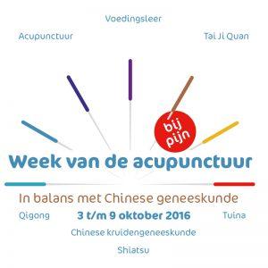 Week van de acupunctuur