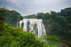 Huangguoshu waterfall. China's largest waterfall. -Anshun, Guizhou, China.